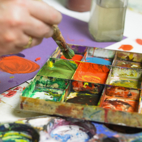 Painting --- Image by © Image Source/Corbis